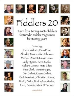 Fiddlers 20 – CD & Book