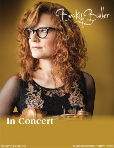 2015 8 x 10 Becky Buller Band Show Poster Blank