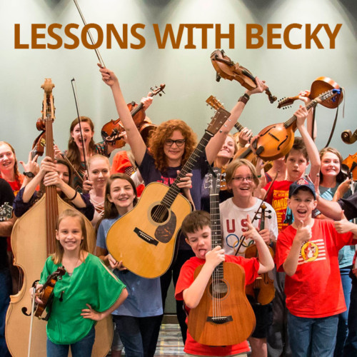 Lessons with Becky Buller