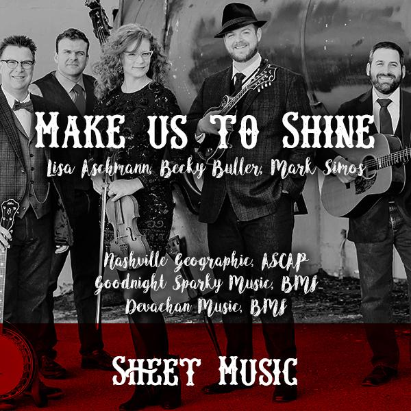 Sheet Music – Make Us To Shine