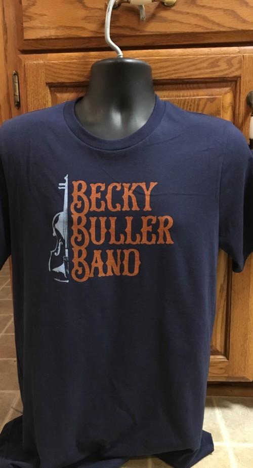 B^3 Navy Logo T-shirt